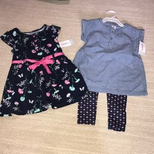 Carter's Outfits 2T NWT